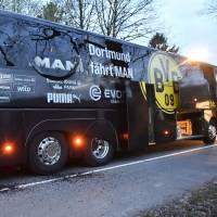 Bus carrying Kagawa, Dortmund teammates rocked by explosions