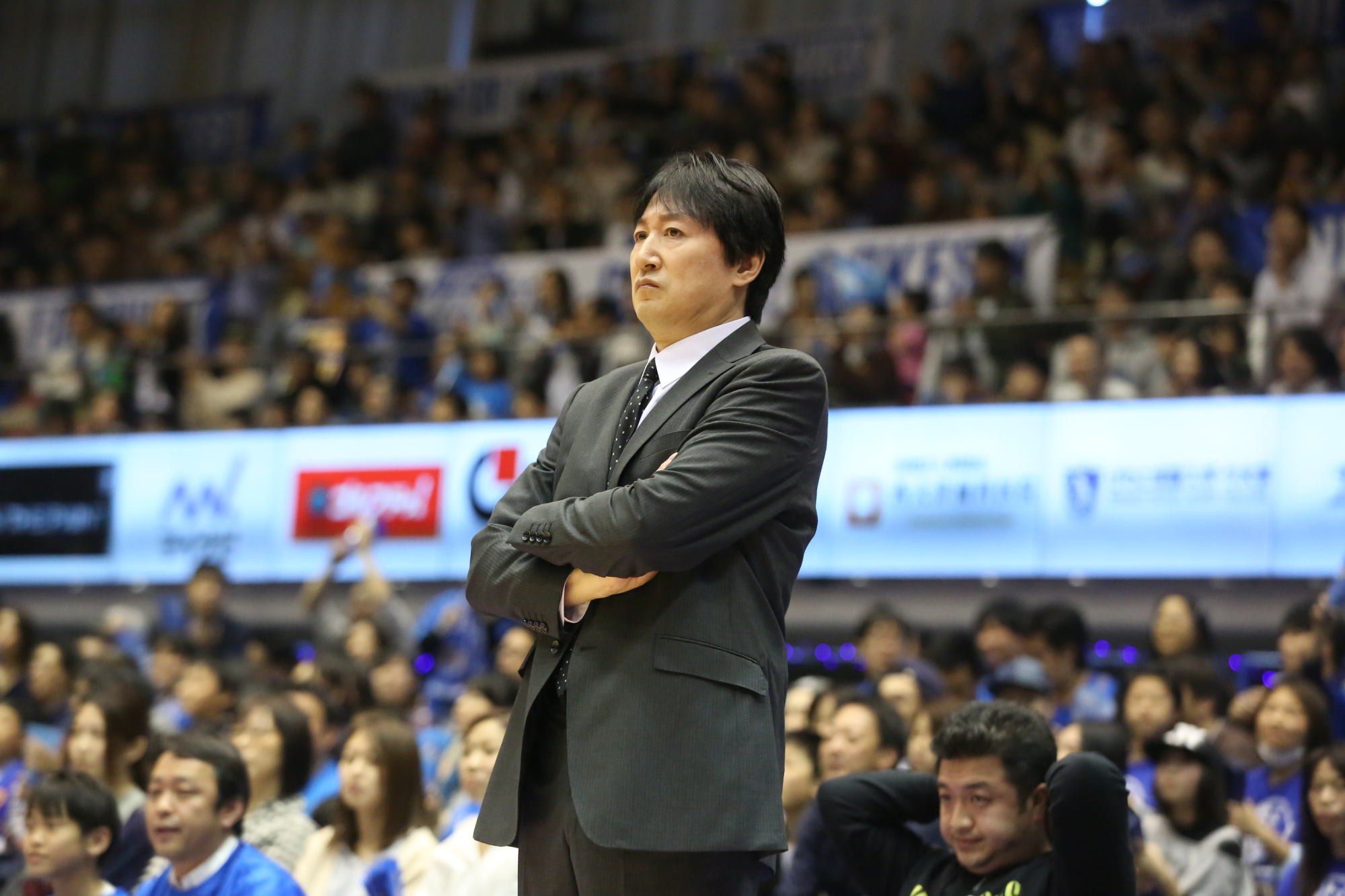 SeaHorses Mikawa bench boss Kimikazu Suzuki is one of the leading candidates for coach of the year honors in the 18-team top division. | B. LEAGUE