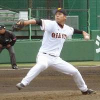 Giants' Takagi returns from gambling suspension, pitches on farm team