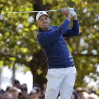 Four tied for share of Masters lead
