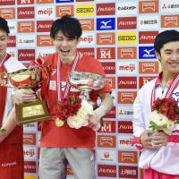 Uchimura completes dominant decade at gymnastics nationals