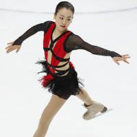 Among Mao Asada's many achievements are three world titles (2008, 2010, 2014), a world junior crown (2005), an Olympic silver medal (2010) and four Grand Prix Final titles (2005, 2008, 2012-13). The Nagoya native will always be associated with her patented triple axel jump. | AP