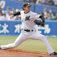 Marines rookie Sasaki triumphs in first start