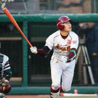 Mogi's three-run blast helps propel Eagles past Hawks