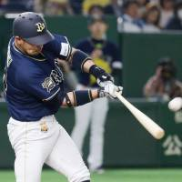 Miyazaki belts two homers as Buffaloes top Fighters