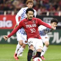 Reds' Koroki notches first-half hat trick in rout of Vegalta