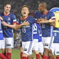 Marinos playmaker Saito provides spark in setting up pair of goals against Jubilo
