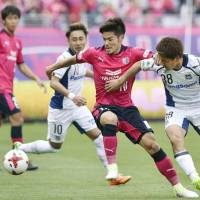 Kurata rescues point for Gamba in Osaka derby