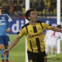 Kagawa opens season account for Dortmund