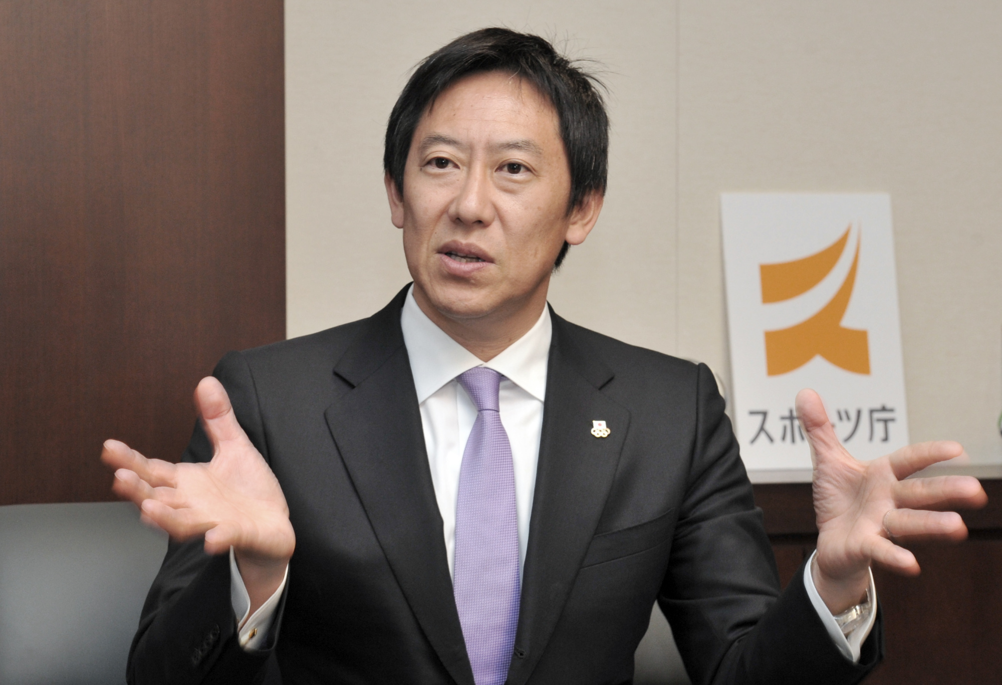 Sports Agency Japan Commissioner Daichi Suzuki is hoping to uncover a 'treasure trove' of new athletes before the 2020 Olympics. | YOSHIAKI MIURA