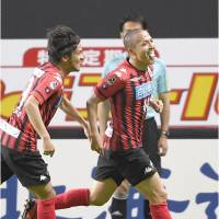 Sapporo's Ono scores first goal of season in Levain Cup draw against Omiya