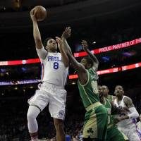 The 76ers' Jahlil Okafor is one of the team's highly touted recent draft picks who has missed significant time due to injuries.   ASSOCIATED PRESS