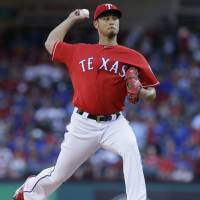 Erratic Darvish gets no-decision as Indians prevail over Rangers