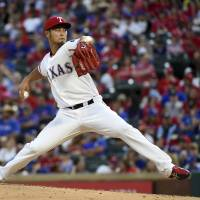 Darvish suffers first loss of season despite solid start