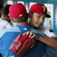 Darvish bounces back to help Rangers complete sweep