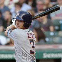 Aoki's first three-hit game of year lifts Astros