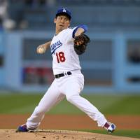 Maeda regains form for Dodgers