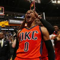 Westbrook records historic 42nd triple double, hits buzzer-beater to sink Nuggets