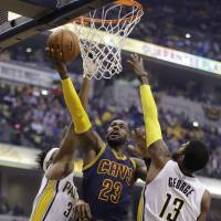 Cavaliers finish off Pacers in four
