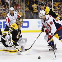 Capitals round off regular season with victory over Bruins