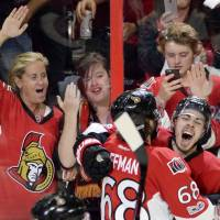 Pageau's fourth goal seals Senators' 2OT win over Rangers