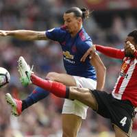 Ageless Ibrahimovic leads United to win