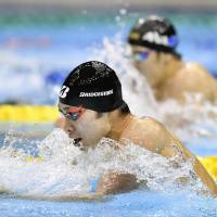 Hagino outduels Seto in 200 IM; Ikee earns third title at nationals