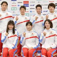 Japan swimming coach targets at least three golds at worlds
