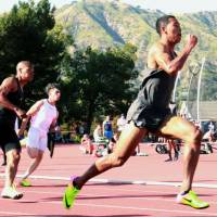 Sprinter Sani Brown finishes second in 100 meters at Bryan Clay Invitational