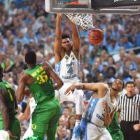 Meeks carries Tar Heels back to championship game