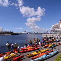 The Port of Yokohama has long attracted people of all ages from around the world. | YOKOHAMA PORT PASSENGER SHIP PHOTO CONTEST
