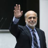 Former Fed chief Bernanke endorses BOJ's inflation goal