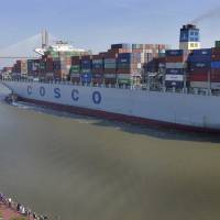 East Coast ports scramble to accommodate largest container ship