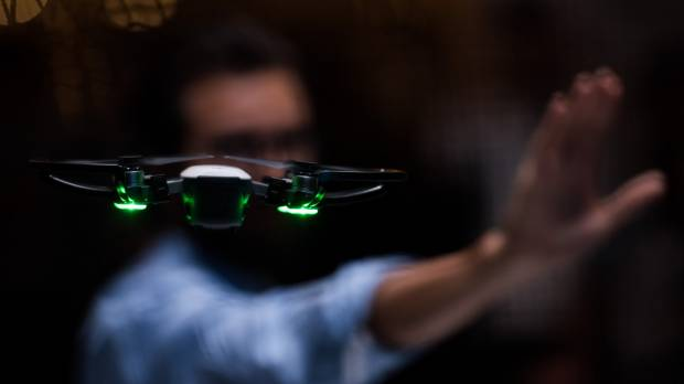 China's DJI unveils $499 drone that flies from palm of your hand