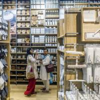Ryohin Keikaku Co., in a joint venture with Reliance Brands Ltd., is betting big on minimalist Muji stores in India, the world's most colorful retail market. | BLOOMBERG