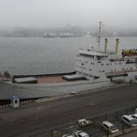 North Korea ferry docks for first time in Vladivostok; Russia dismisses political connection