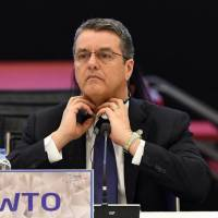 Japan, WTO chief reaffirm commitment to free trade