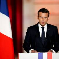 Macron, 39, inaugurated as France's youngest-ever president at Paris ceremony