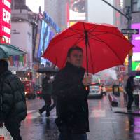 Heavy rains cause flooding in New York area, disrupt travel