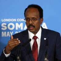 Somalia and its foreign backers sign pact to beef up army against al-Qaida-linked al-Shabab militants