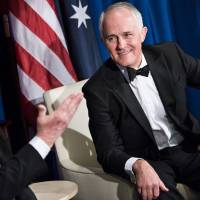 Despite delay, Turnbull says Trump treated him 'like family' during first meet