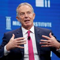 Blair announces he will plunge back into British politics to fight Brexit
