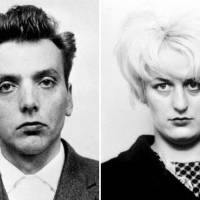 (A combination of handout pictures created in London on Monday shows undated police handout photographs released by Greater Manchester Police of 'Moors murderers' Ian Brady and Myra Hindley Brady has died in high-security hospital at the age of 79, a spokesperson for the NHS trust in Merseyside said on May 15, 2017. Brady along with his then-girlfriend Myra Hindley, who died in prison in 2002, dubbed the Moors murderers, kidnapped and murdered five children in the 1960s and buried at least four of their bodies on Saddleworth Moor near Manchester in northwest England. | GREATER MANCHESTER POLICE / VIA AFP-JIJI