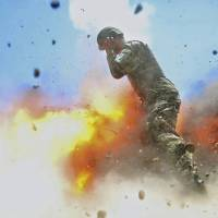 U.S. Army releases photo by combat photographer that captures moment of her own death