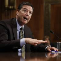 Comey testifies he felt 'nauseous' at thought he swayed U.S. election against Clinton