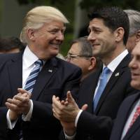 Trump happy as House passes GOP health bill in step toward Obamacare repeal