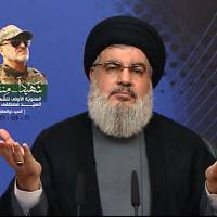 Hezbollah leader vows future war would be fought on Israeli territory