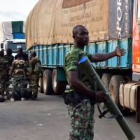 Cote d'Ivoire army mutiny leaves one dead, several wounded