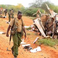 Separate bombs kill eight Kenya police officers as al-Shabab steps up attacks