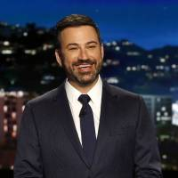 Comedian Kimmel makes tearful plea for child health care, recounts newborn's brush with death